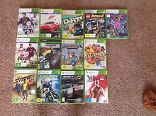 13 used xbox 360 games for sale Glenview Caloundra Area Preview