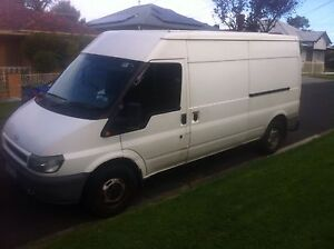 2003 Ford transit (long wheelbase ) good condition low Klm South Kingsville Hobsons Bay Area Preview