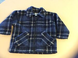 Boy's Very Warm Check Jacket - Size 2 Buff Point Wyong Area Preview