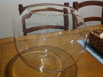 Large Glass Fish Bowl  Springfield Lakes Ipswich City Preview