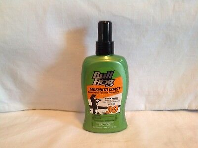 Deet Free Waterproof Insect Repellent - BULLFROG MOSQUITO COAST SPF 30 - Sunscreen With Insect Repellent, Deet Free