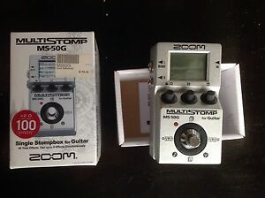 Zoom MS 50G multi effects guitar stomp pedL Newcastle Newcastle Area Preview