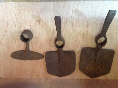 Job Lot Of Vintage old steel Garden Tools