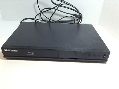 Samsung Blu-ray Disc Player BD-J4500R Tested Works but NO REMOTE HDMI 1080p DVD