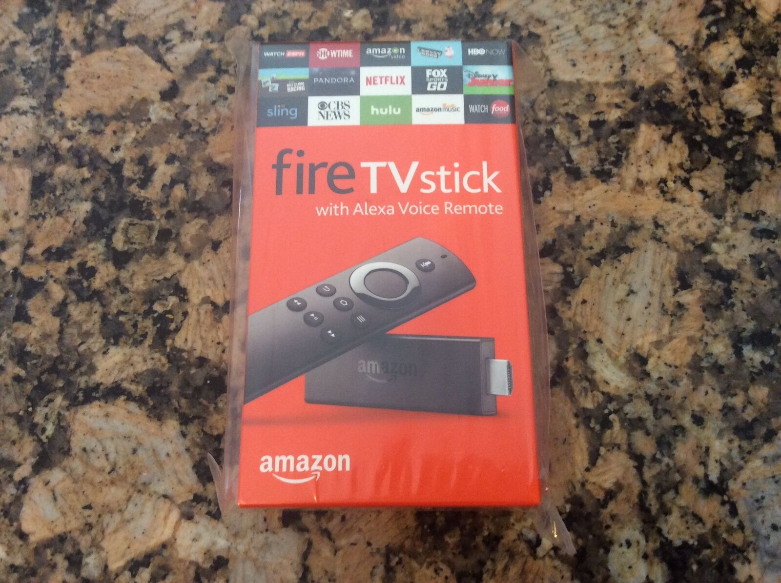 $41.90 - Amazon Fire Tv Stick w/Alexa Voice Remote Streaming- Latest! 2nd Gen! Brand New!