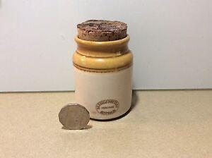 Bendigo PottCanister Aus Heritage Range All Spice Jar cork lid Vintage Mosman Mosman Area Preview