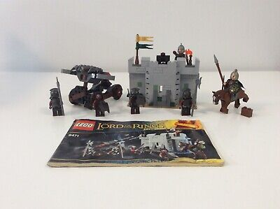 LEGO The Lord of the Rings 9471 Uruk-Hai Army - 100% Complete