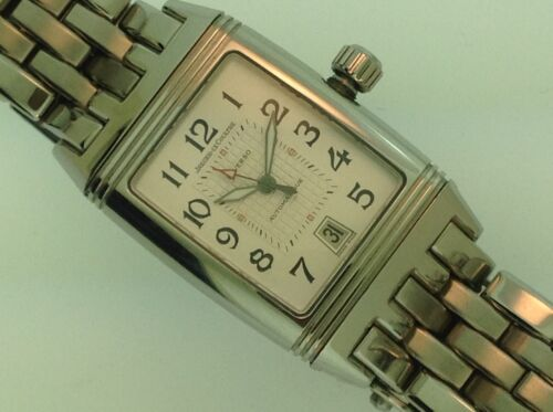 Genuine  Jaeger-lecoultre Reverso Gran Sports Wristwatch Ss 290.8.60