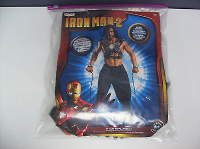 IRONMAN 2 WHIPLASH  TEEN MEN HALLOWEEN COSTUME DISPLAY MODEL ONE SIZE