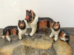 COLLIE DOG FIGURINE FAMILY Buderim Maroochydore Area Preview