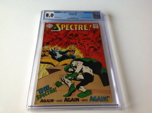 SPECTRE 2 CGC 8.0 NEAL ADAMS COVER ART INTERVIEW DC COMICS