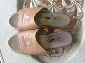 Authentic Chanel slip on size 8.5