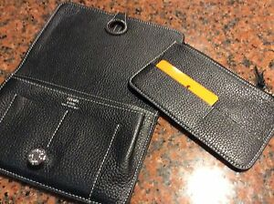 Large black leather wallet Ormond Glen Eira Area Preview