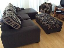 Lounge, Ottoman and swivel chair Cronulla Sutherland Area Preview