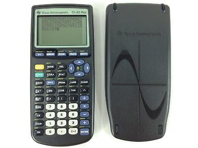 Texas Instruments TI-83 Plus Graphing Calculator No Manual - New Batteries