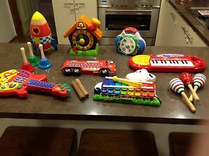 Toddler learning / music toys Macgregor Belconnen Area Preview
