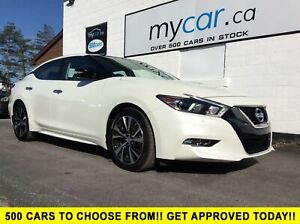2018 Nissan Maxima SL LEATHER, SUNROOF, NAV, SUPER LOW MILEAGE!!