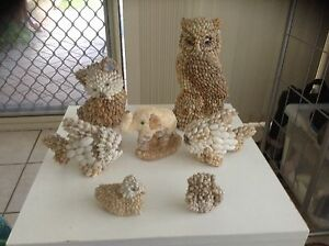 Shell animal ornaments Thornlie Gosnells Area Preview