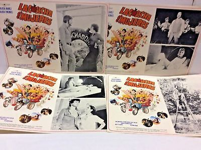 Rare Original Mexican Spanish Lobby Cards CACOSECHA deMUJERES set of 4 Cheescake