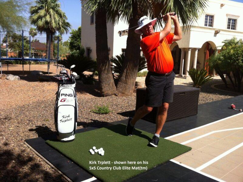$ Save -Slight 2nd Golf Mats 5x5  Premium Country Club Elite® RealFeel GolfMats®