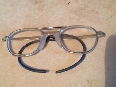 Vintage WELSH Manufacturing Spectacles Safety Glasses Goggles Hipster Steampunk