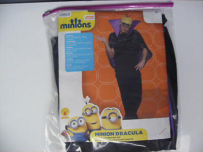 MINIONS MINION DRACULA TEEN MEN HALLOWEEN COSTUME DISPLAY