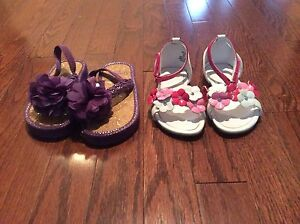 Girl Sandals - size 9 - see all pictures  London Ontario image 1