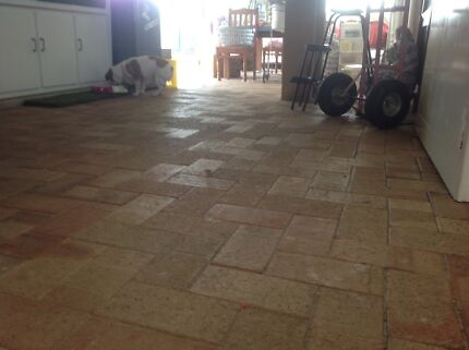 free pavers light coloured 115mm x 330mm x 45mm Bull Creek Melville Area Preview