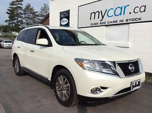 2015 Nissan Pathfinder SL LEATHER, HEATED SEATS, BEAUTIFUL TR...