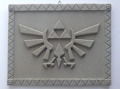 "Zelda - Hyrule Crest - Wall Display (Stone Finish) 12.5"" (32cm)"