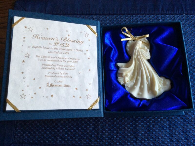 "The Millenium Ornament Limited Edition ""Heavens Blessing"" 1998 Roman Inc"