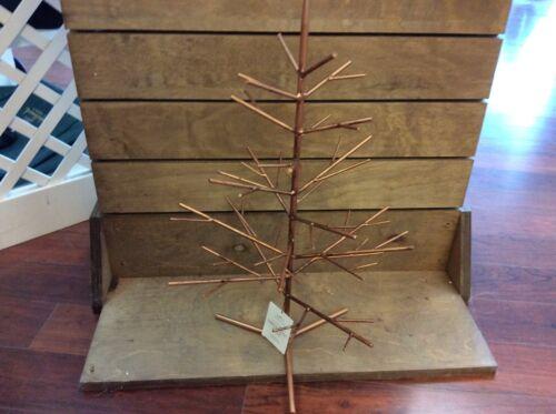 HALLMARK MINIATURE KEEPSAKE ORNAMENT TREE New with Tag METAL Gold Tree