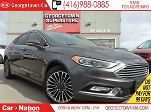2017 Ford Fusion Titanium| AWD | NAVI | LEATHER | ROOF |BACK UP