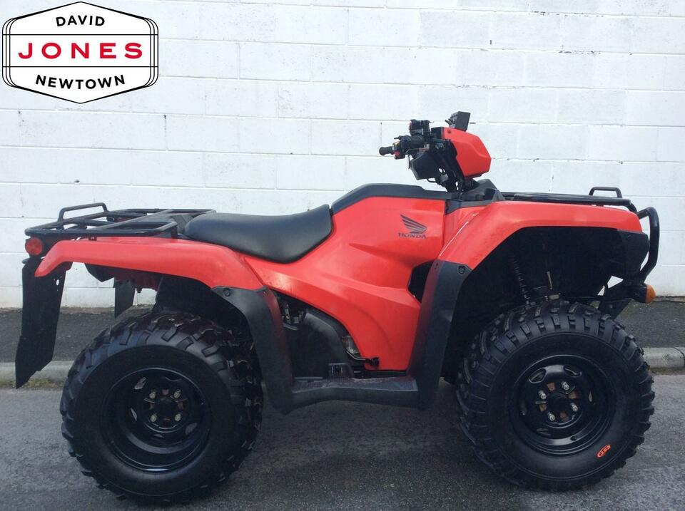 2014 HONDA TRX500 FM MANUAL FOREMAN 4x2x4 4WD QUAD BIKE ATV FOUR WHEELER