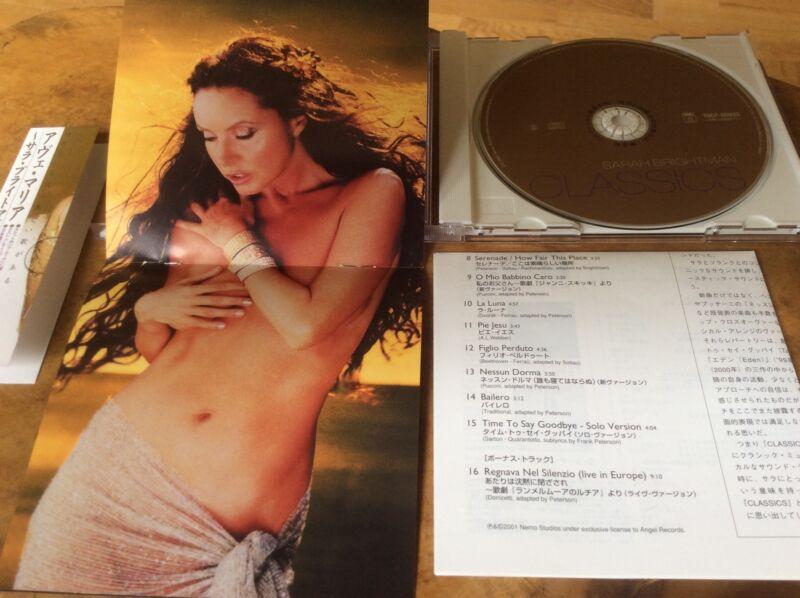 Sarah Brightman - Classics - 2002 Japanese  Promo Sampler Album. Extremely Rare.
