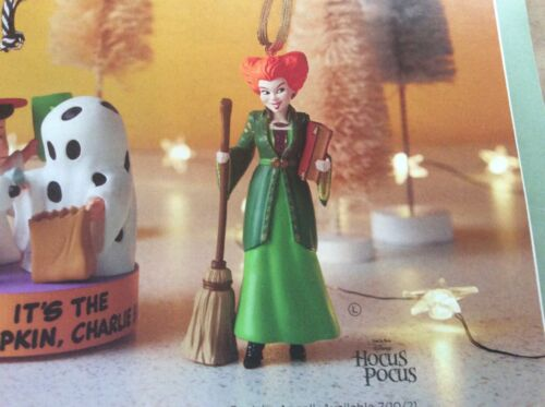 2021 Hallmark Disney Hocus Pocus Winifred Sanderson Halloween NIB
