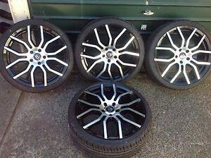 "Holden Commodore wheels and tyres 20"" ve vf ss ssv calais... Carlton Kogarah Area Preview"