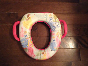 Princess potty seat