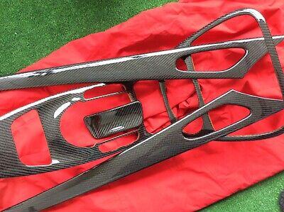 AUSTAUSCH Echt Carbon Mercedes SL R230 Mittelkonsole Dekorleisten