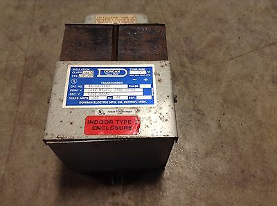 Dongan 35-50-1103 Transformer .500 Kva 500 Va Single Phase 35501103