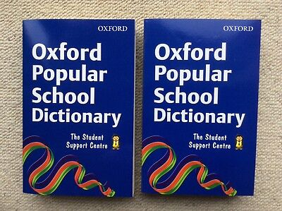 Two copies of the Oxford Popular School Dictionary, brand new.