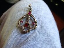 Beautiful antique red stone Turkish pendant Arncliffe Rockdale Area Preview
