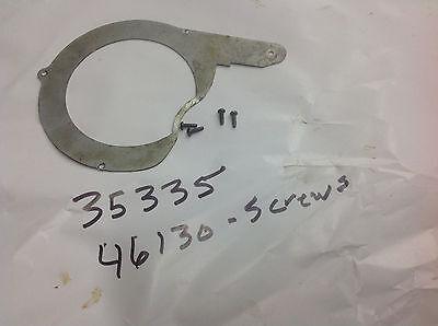 Ridgid 35335 Back Plate W4 Screws Part For 358 Ratchet Tube Bender. Used