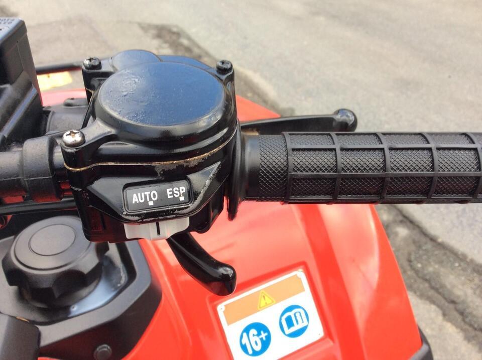 2015 HONDA TRX420AT FA FA5 AUTO FOURTRAX 4x2x4 4WD QUAD ATV FOUR WHEELER IRS