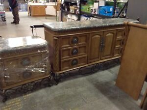 Beautiful King Bedroom Set at the HFH ReStore