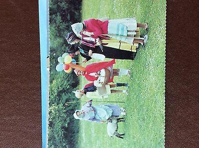 postcard unused village fete woolaston