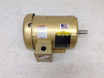 Baldor Reliance Em3550t-m10d 1.5 Hp 208-230460 Vac 3500 Rpm 143t Motor
