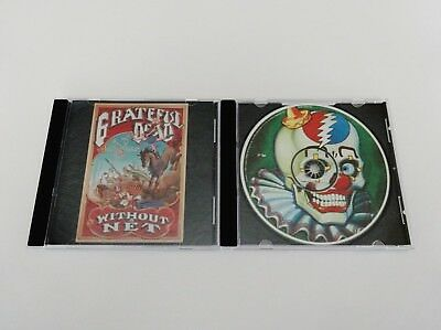 Grateful Dead Without A Net 2 CD + Liner Notes Only 1989 1990 Live Rick Griffin
