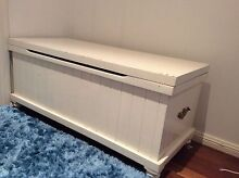 WHITE TOY BOX or Blanket box $100 Grays Point Sutherland Area Preview