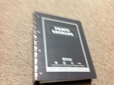 2001 Mopar Dodge DAKOTA TRUCK Parts Catalog Manual Binder OEM Factory  ()